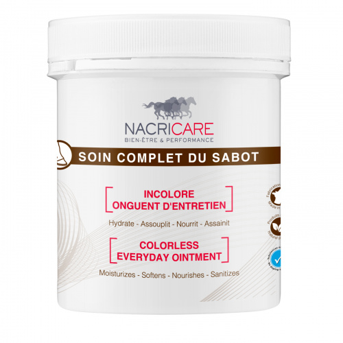 Soin Complet du Sabot Incolore 250 mL - Onguent Cheval