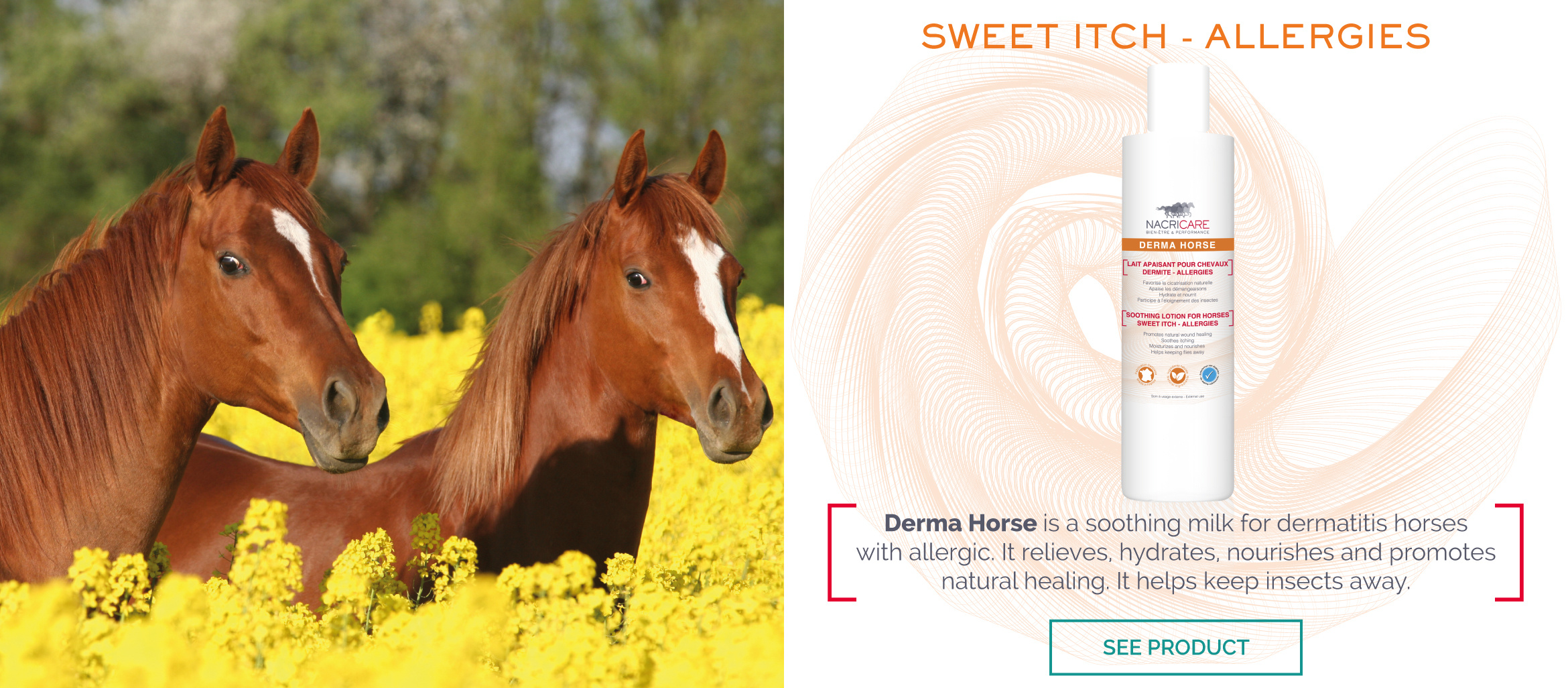 Sweet Itch - DERMA HORSE NACRICARE